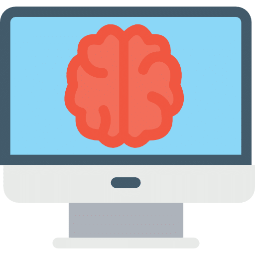 Brain CT Scan Illustration